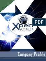 company profile corporate - xpert welding  2018