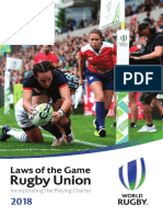 World Rugby Laws 2018 En