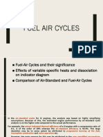Fuel Air Cycles