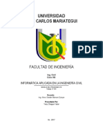 INFORME SAP2000
