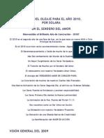 INFORME DEL OLEAJE PARA EL AÑO 2010 - SOLARA