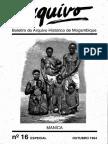 Boletim Do Arquivo Histórico de Moçambique Nº16 Especial - Outubro 1994