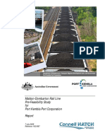 Electric Coal Train Australia