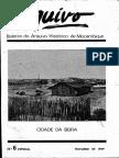 Boletim Do Arquivo Histórico de Moçambique Nº6 Especial - Outubro de 1989