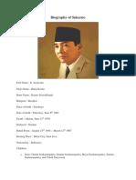 Biography of Sukarno.docx