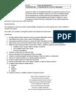 Cuestionario La Araucana - Grado Noveno