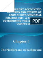 Accounting system-thesis