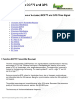 Hopf Elektronik GmbH - GPS and DCF77 Based Industrial Radio Controlled Clock