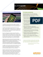 Aruba Solution Brief - Connected Stadium
