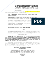 Deed of Extrajudicial Settlement of Estate With Absolute Sale__ Bautista