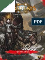 Drakerys Rulebook - Livre de Regles FR