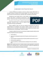 Protocolos de Encaminhamento Para Psiquiatria UFRGS