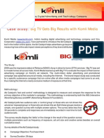 Komli Vizu _Big TV Case Study