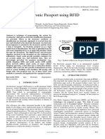 Electronic Passport Using RFID