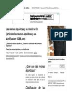 Las Resinas Alquídicas y Su Clasificación - QuimiNet