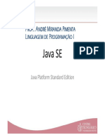 JSE-Aula1 - Contextualizaç╞o JavaDoc I18N L10N