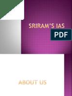 SRIRAM's IAS   Test (Assessment)   Teaching And Learning