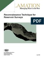 Reconnaissance Technique for Reservoir Surveys 2006