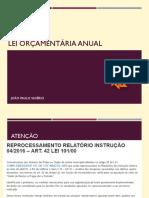 Lei Orçamentária Anual (1)
