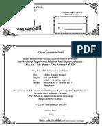 Contoh Undangan Peringatan Maulid Nabi Muhammad SAW(1).doc