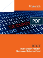 Endpoint Protection Ransomware Effectiveness Report