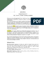 SER NO SER DEVENIR EN PLATON Y ARISTOTELES_TP2 METAFISICA 17preguntas_3p.doc