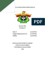Tanggungjawab Sosial Perusahaan (Kelompok 2)