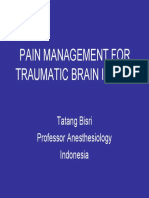 Dr.tatang _pain Management for Traumatic Brain Injury