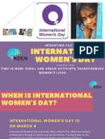 Facts about International Women's Day   KEEN LMS