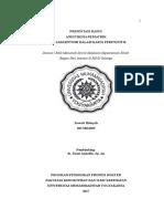 Presentasi Kasus Anestesia Pediatrik Pada Laparotomi Dalam Kasus Peritonitis