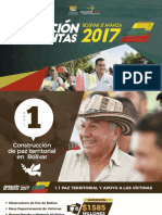 Rendición de Cuentas 2017 de la Gobernación de Bolívar (Bolívar Sí Avanza)
