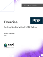 Getting Started With ArcGIS Online