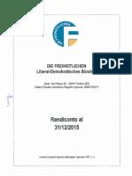 Die Freiheitlichen - Bericht Jahresbilanz 2015