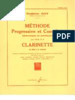 Method Eugene Gay for clarinet