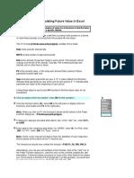 Tutorial Excel FV Lumpsum Ver2