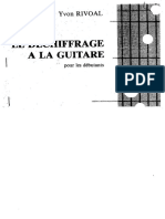 Dechiffrage a La Guitare