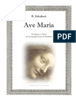 Schubert AveMaria Partitura Do