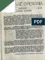 A Classe Operária 1967