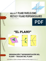 Recta y Plano Parelelismo