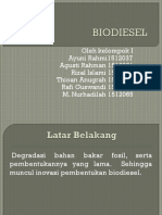 Biodiesel Kel 1