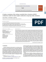 10.1016 j.fuel.2012.09.050 a Further Evaluation of the Mixing Controlled Direct Chemistry MCDC Combustion Model for Diesel Engine Combustion Using Large Eddy Simulation