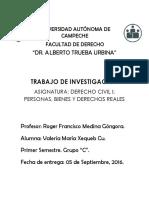 Trabajo de Investigación - Personas Morales