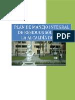 Plan de Manejo Integral de Residuos Sólidos