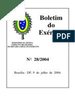 Boletim n° 28 de 2014 - Exército Brasileiro