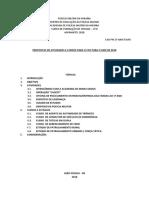 Propostas de Atividades e Cursos Ao 3º Ano Cfo Pmpb Para 2018