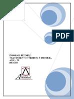 Informe Probeta A335 - P5 DEMEN