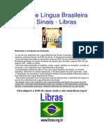 Livro de Lingua Brasileira Dos Sinais