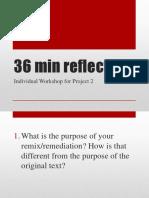 individual workshop questions