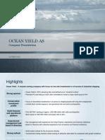 Ocean Yield 20 June 20122
