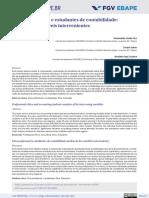 Etica Profissional e Estudantes de Contabilidade - Analise Das Variaveis Intervenientes